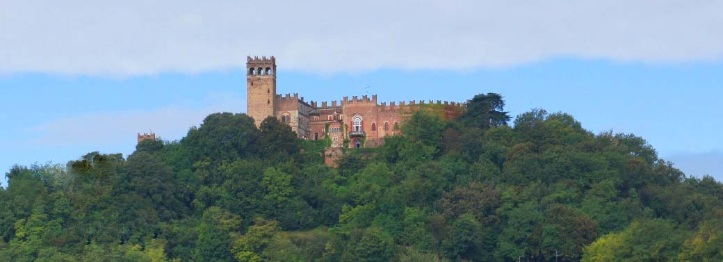 Italian castle for sale - Piemonte